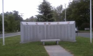 Norwell MA Veteran's Memorial