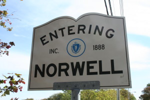 Entering Norwell MA
