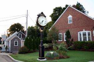 Norwell center clock